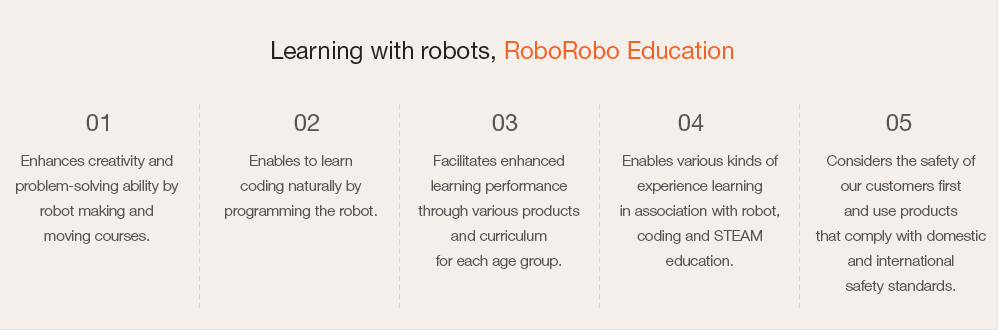 Learning with robots, RoboRobo Education